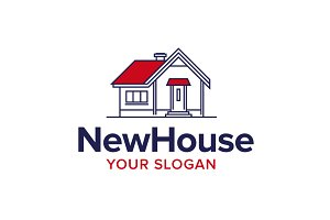 New House Logo - Home Logo