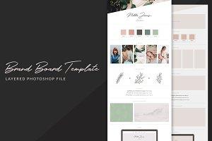 Brand Board Template: Nikko