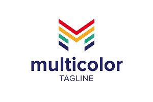 Multicolor - M Logo