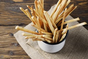italian bread sticks  Grissini
