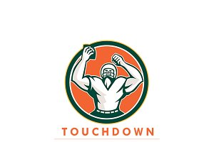 Touchdown Football News Agency Logo