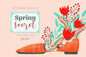 Spring Secret collection
