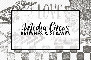 Media Circus PS Brushes & Stamps