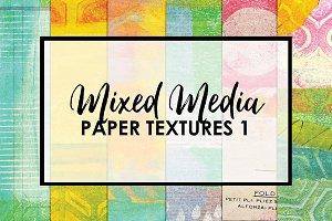 Mixed Media Paper Textures 1