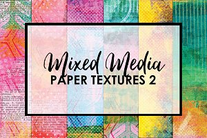 Mixed Media Paper Textures 2