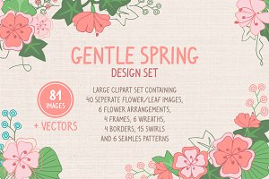 Gentle Spring Design set