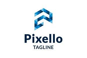 Pixello - P Logo