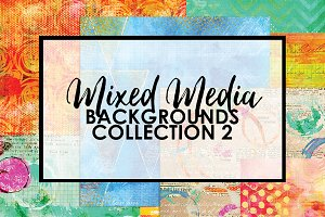 Mixed Media Backgrounds 2