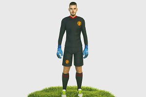 De Gea goalkeeper football player