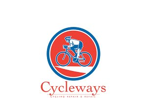 Cycleways Cycling Repairs Logo