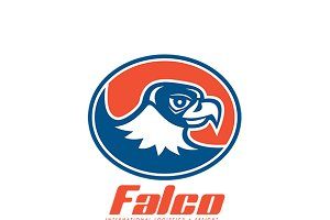 Falco International Logistics Logo
