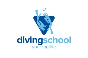 Diving School Logo
