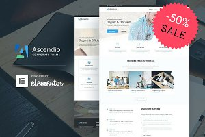 Ascendio - Corporate WordPress Theme