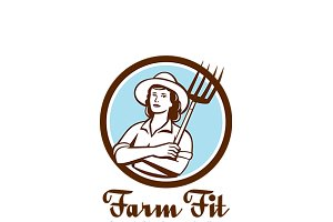 Farm Fit Women's Diet Program Logo