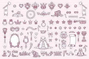 ♡ vector Wonderland items 05
