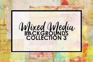 Mixed Media Backgrounds 3