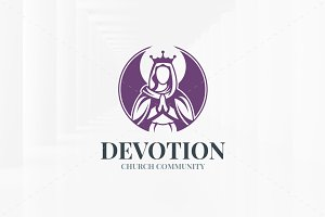 Devotion Logo Template