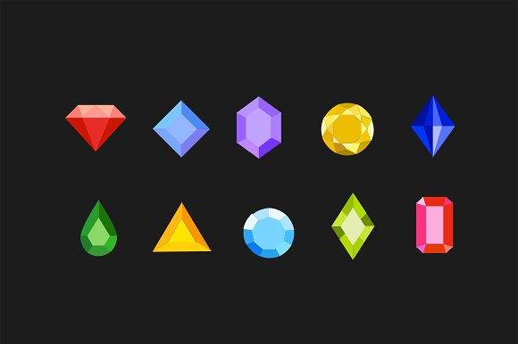 10 Gem And Jewel Icons