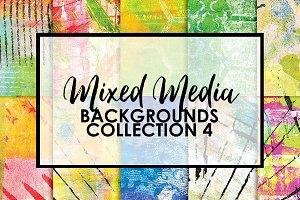 Mixed Media Backgrounds 4