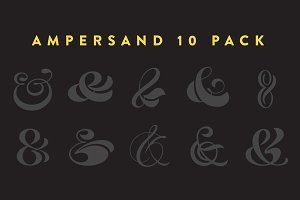 Ampersand 10-Pack