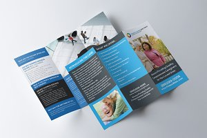Senior Care Trifold Template