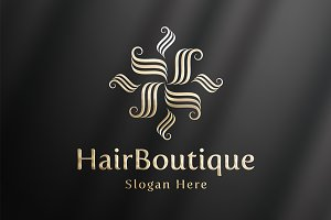 HairBoutique - Luxury Logo Template