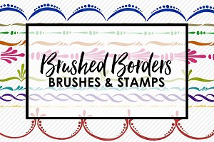 Brushed Border Brushes