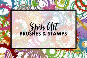 Spin Art Brushes