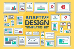 Stroked Adaptive Design Elements