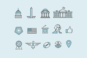 14 Washington DC Icons