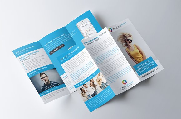 Creative Business Trifold Brochure