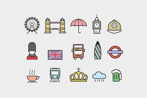 15 London Icons