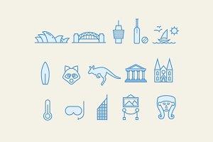 15 Sydney Icons