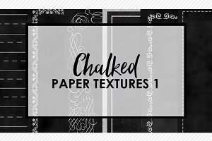 Chalked Paper Textures 1