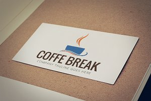 Coffee Break Logo Template