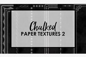 Chalked Paper Textures 2