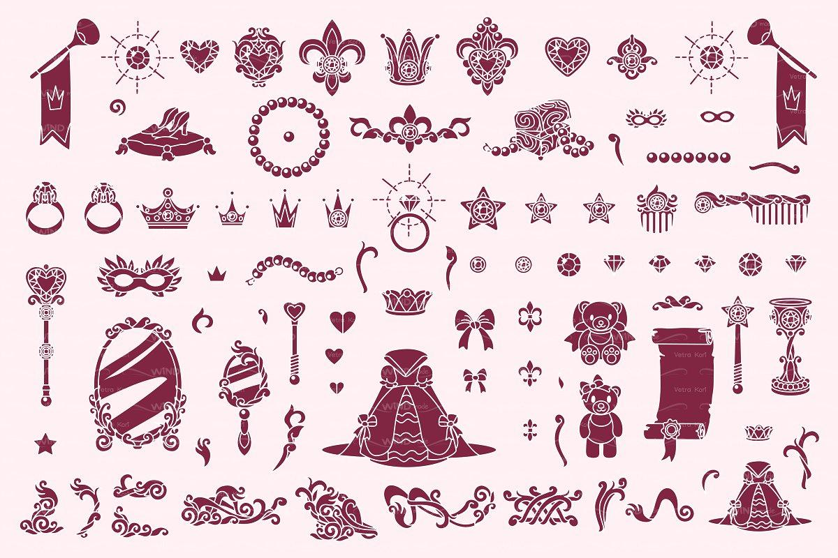 vector Wonderland  stencil 05