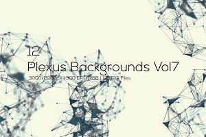 Plexus Backgrounds Vol7