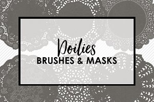 Doilie Brushes and Masks