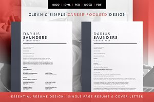 Essential Resume - Darius