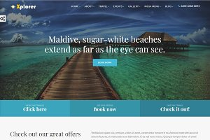 Xplorer - HTML Tourism Template