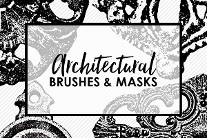 Architectural Brushes & Stamps