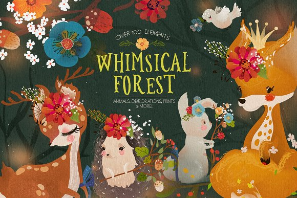 Whimsical Forest