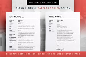 Essential Resume - Ralph