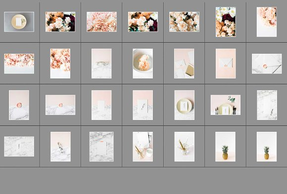 Modern Blush Wedding Bundle  in Product Mockups - product preview 14