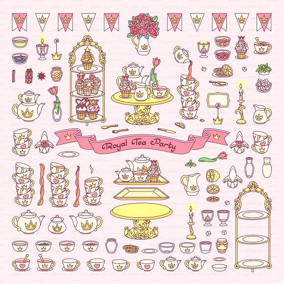 vector Wonderland color items 04