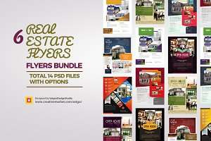 Real Estate Flyers Bundle Vol1