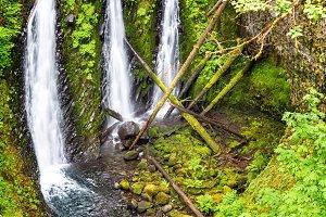 Triple Falls View in Oregon