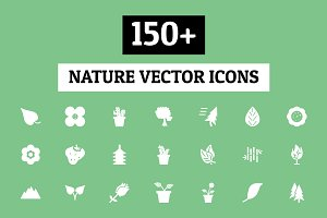 150+ Nature Vector Icons