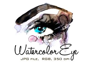 Watercolor Eye 2
